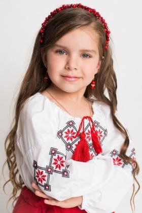 вышиванка детская девочка