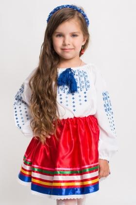 детская вышиванка юбка