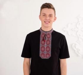 мужские вышиванки футболка