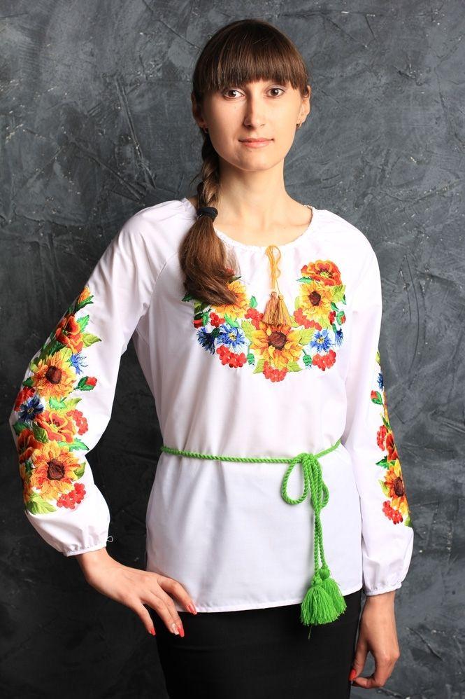 "Блуза-вышиванка ""подсолнух"""
