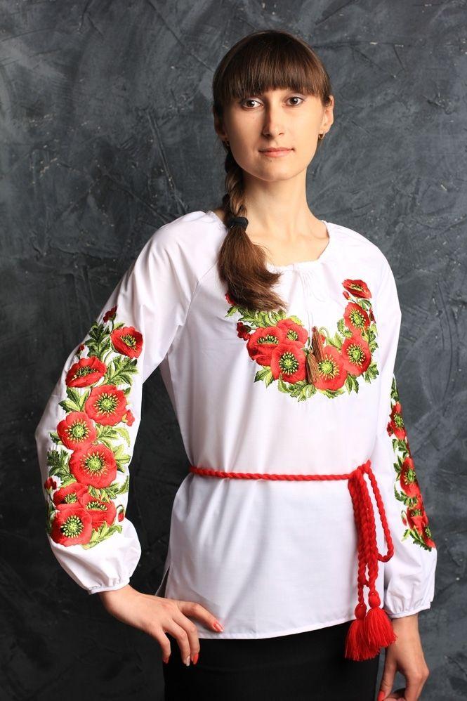 """Блуза женская """"мак"""""""