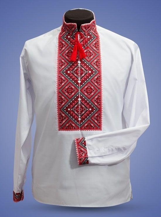 Рубашка мужская 011-ч