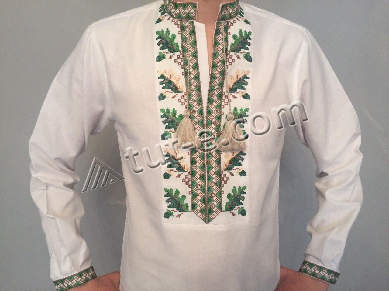 Рубашка мужская 015-Ч