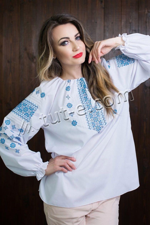 Женская блуза-вышиванка