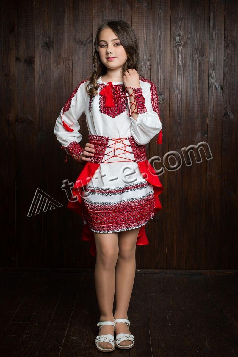 Костюм красный украиночка