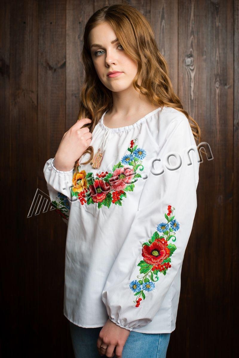 Блуза подростковая мальва