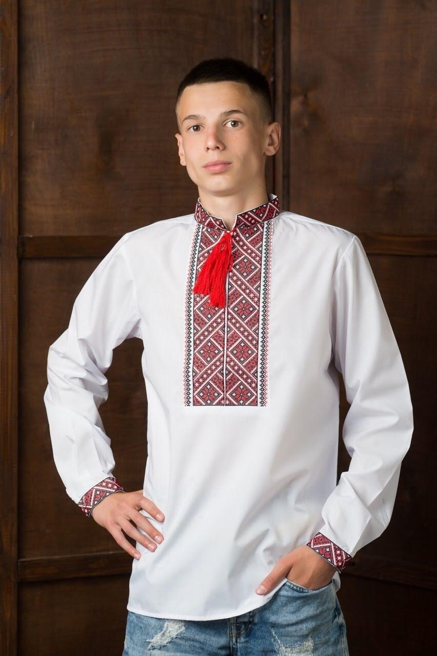 Подростковая вышитая рубашка3