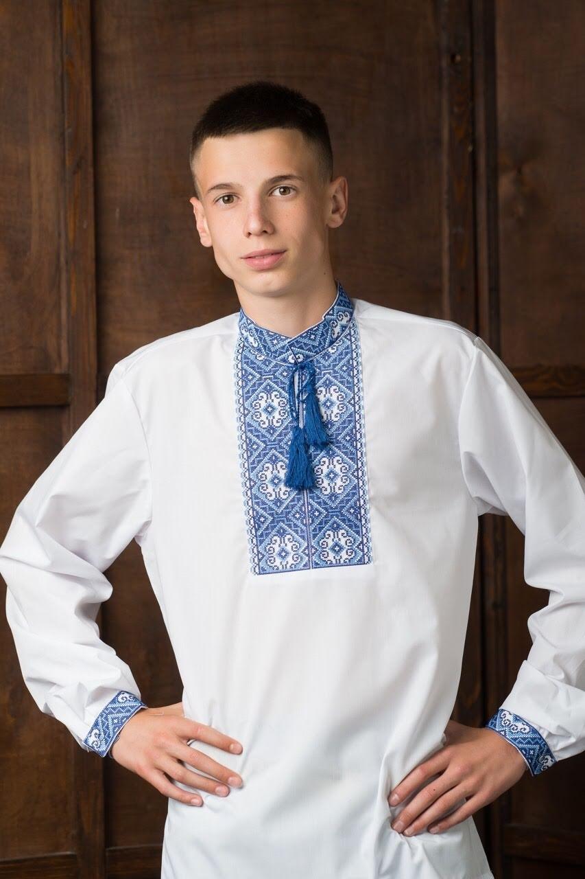 Подростковая вышитая рубашка5