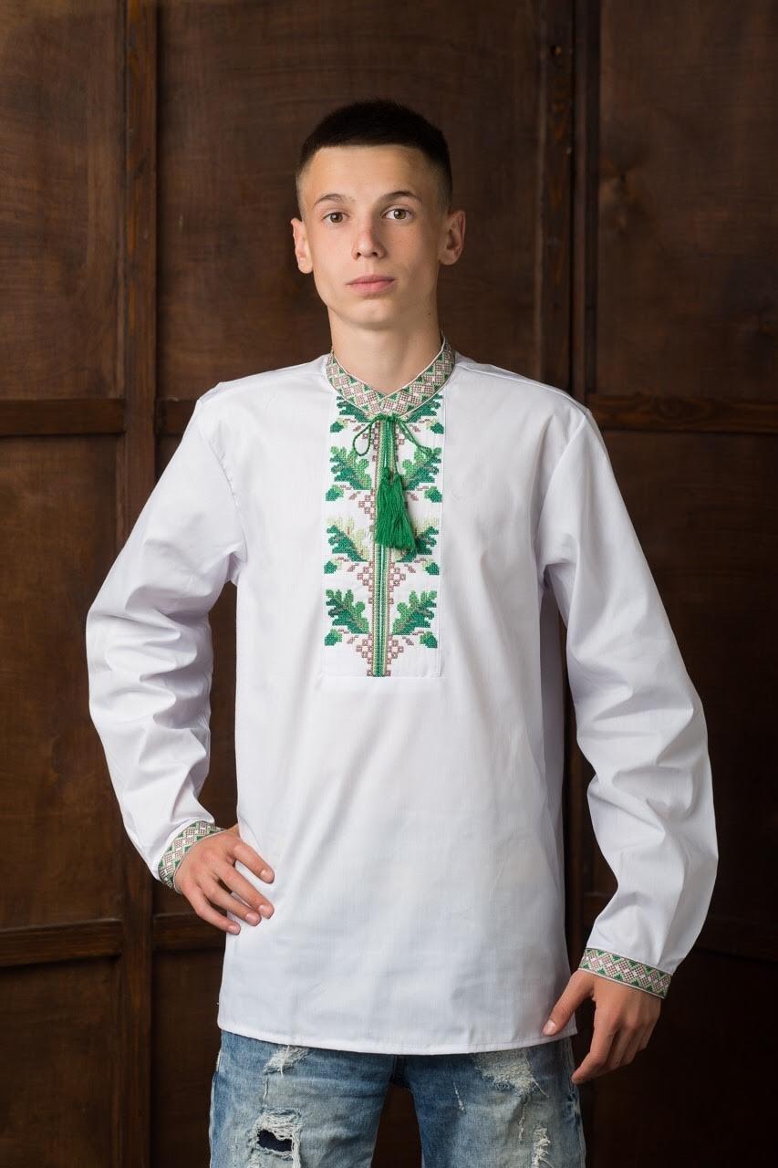 Подростковая вышитая рубашка7
