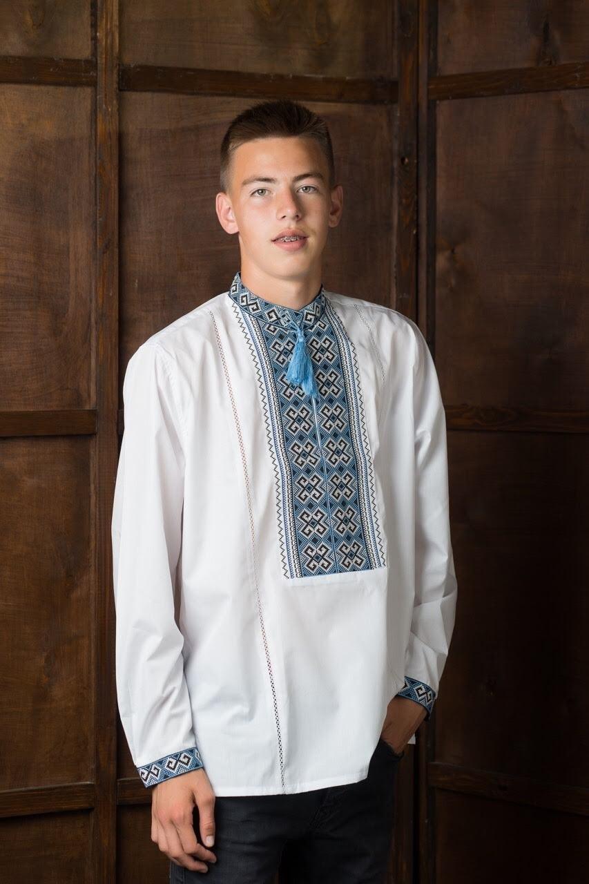Подростковая рубашка-вышиванка2