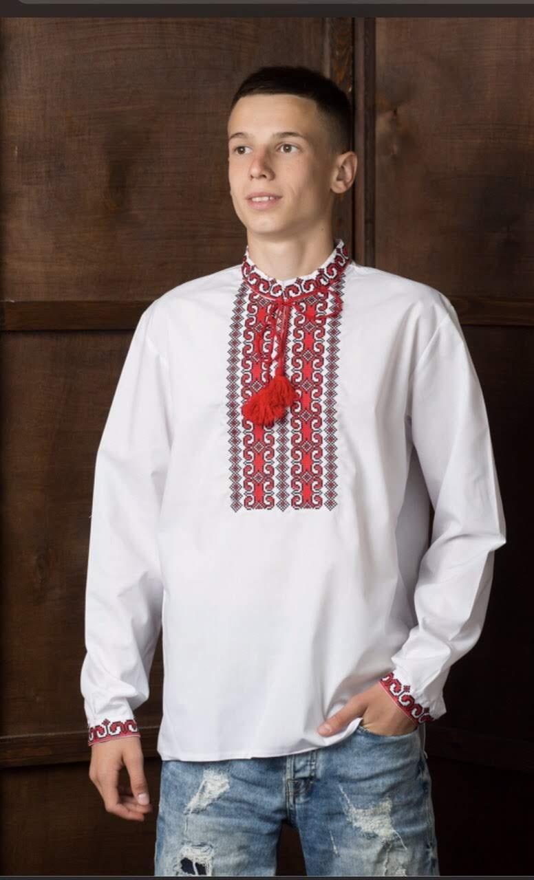 Мужская рубашка-вышиванка6