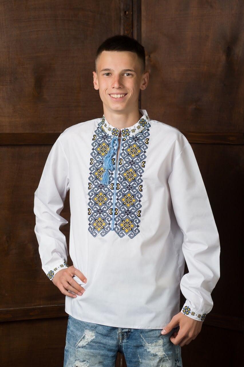 Мужская рубашка-вышиванка7