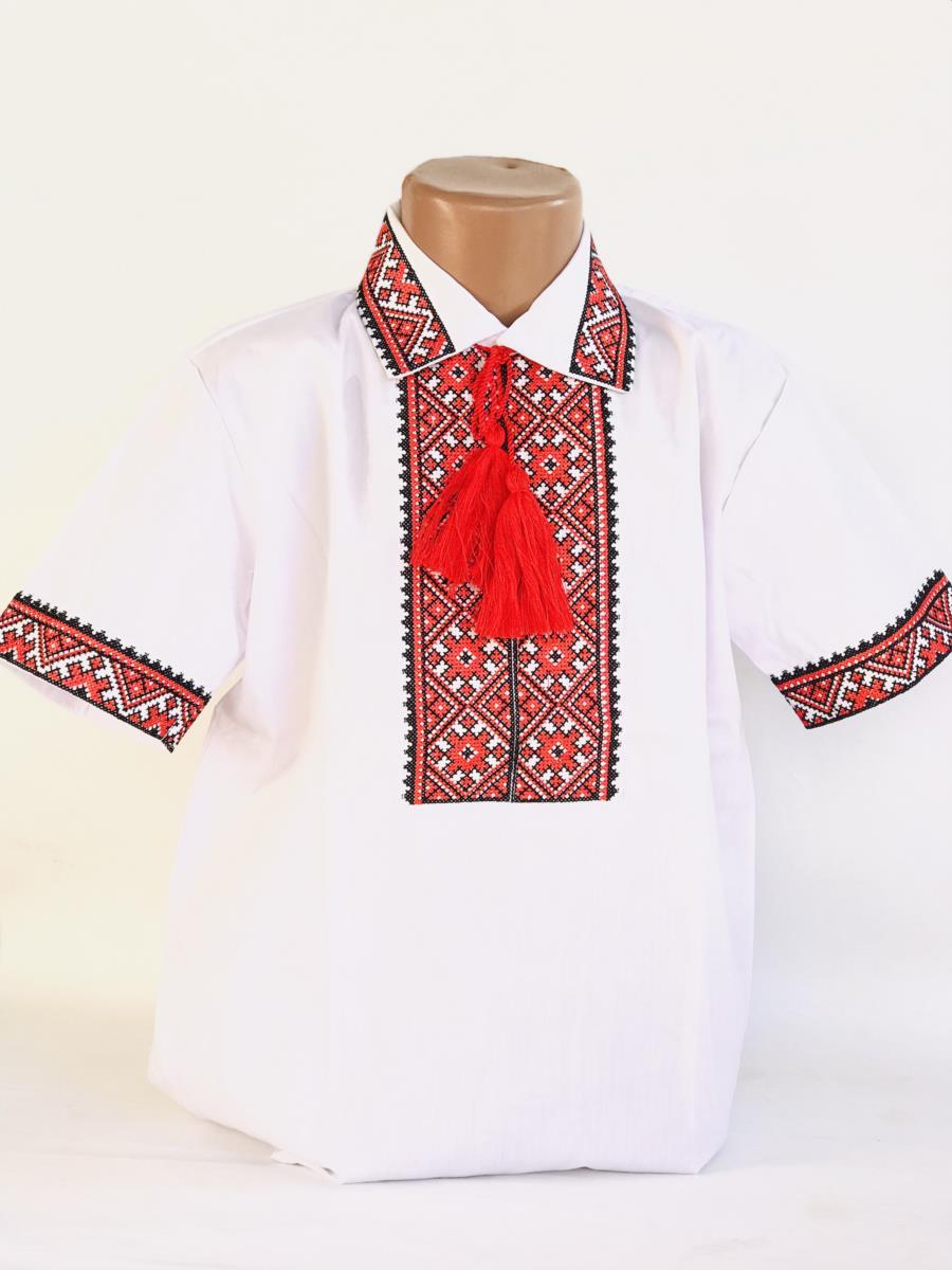 Сорочка з комірцем